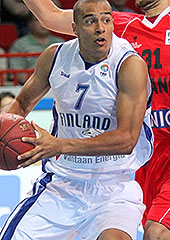 7. Shawn Huff (Finland)